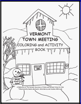 town meeting coloring book